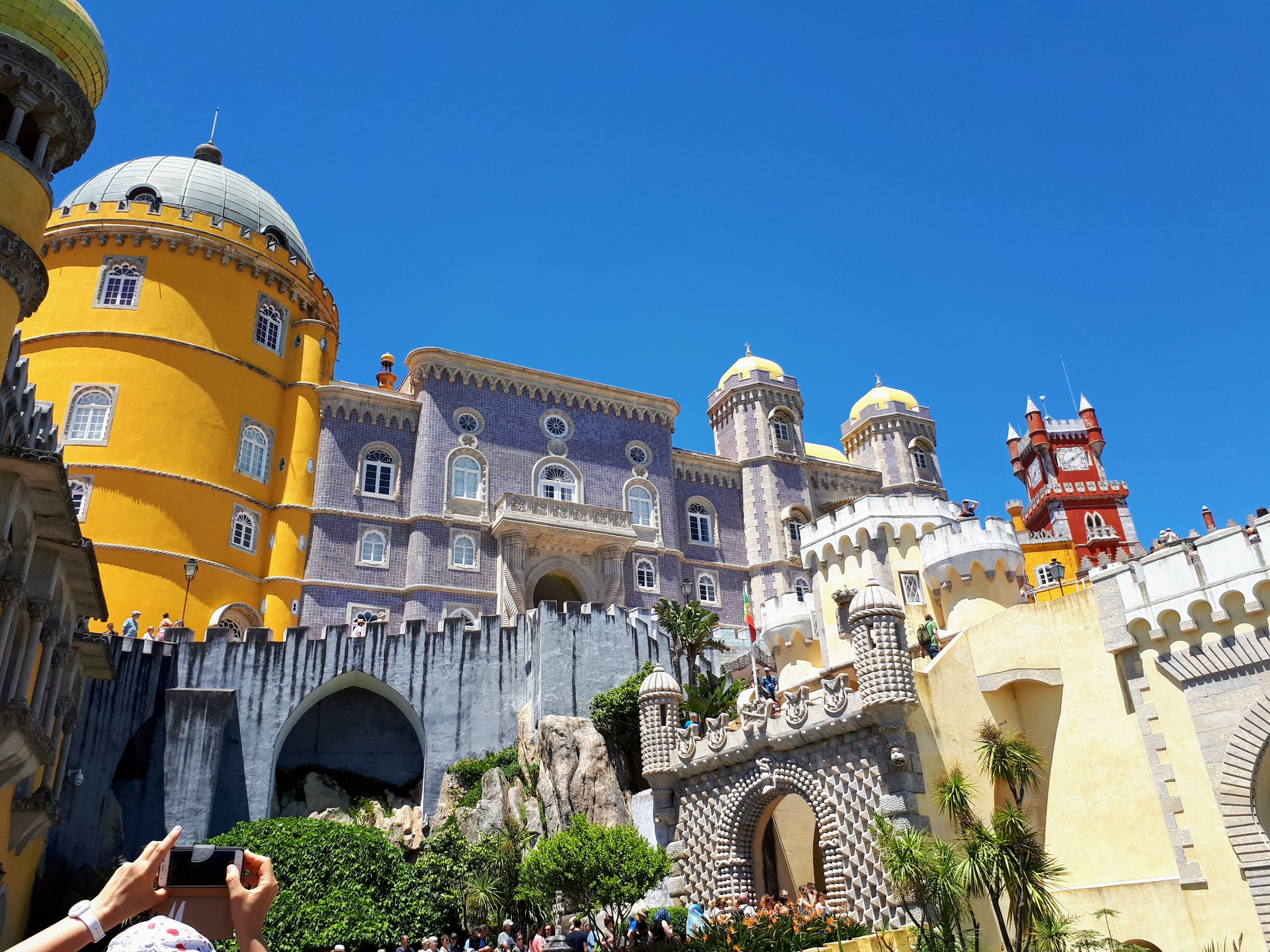Sintra Palace - 7 Wonders of Portugal